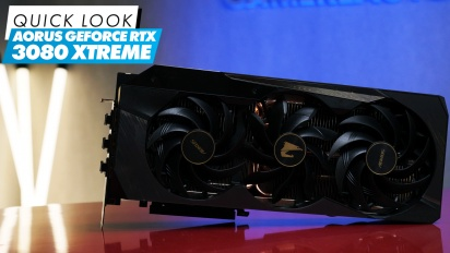 Aorus GeForce RTX 3080 Xtreme - Quick Look